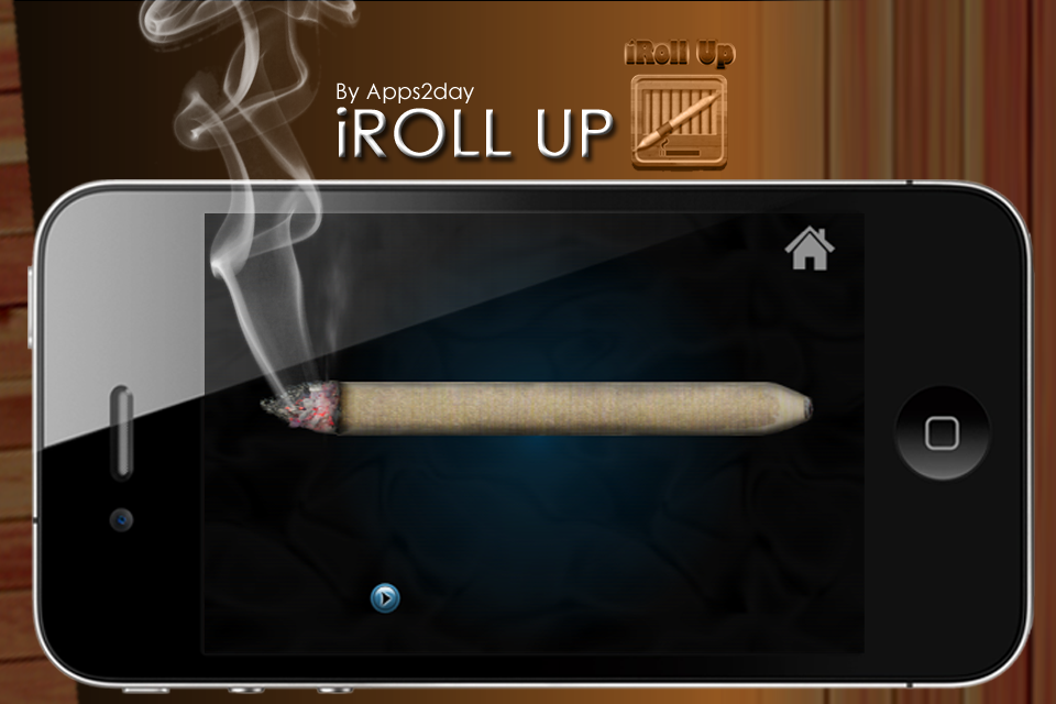 Screenshot iRoll Up the Rolling and Smoking Simulator for Free